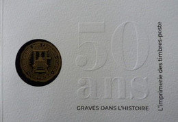 Année 2020 - Carnet 50 Ans Gravés Dans L'histoire - L'imprimerie Des Timbres-poste - Autres