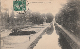 REF.AD . CPA . 18 . VIERZON-FORGES .  LE CANAL  .  PENICHES - Embarcaciones
