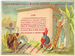 Chromo Bognard Bog3-31 Guerriers De Différentes Nations - Au Bon Marchè Du Temple - Artis Historia