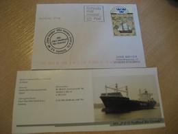 NEDLLOYD RIO GRANDE P&O MS Container Ship Cover Hamburg Santa Giorgina MS 1999 Cancel GERMANY + Image - Ships