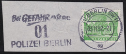 Berlin   .    Michel   .    56     .     O       .   Gebraucht     .   /    .   Cancelled - Used Stamps