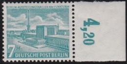 Berlin   .    Michel   .   121      .     **    .   Postfrisch   .   /    .   MNH - Nuovi