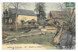 Cpa...vallée De Chevreuse...Gif...moulin De L'abbaye...1908...(couleur)... - Gif Sur Yvette