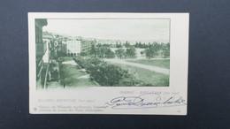 Grece Entier Postal Corfou Esplanade (coté Haut) 1902 Pour La France , Postal Stationary Used 1902 - Enteros Postales