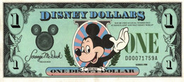 ONE DISNEY DOLLAR - Other