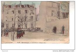 REF13.688  PARIS  18em.  MONTMARTRE.  JOURNEE DU 18 MARS 1871 FUSILLES - Other