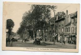 92 CHAVILLE La Grande Rue Coté De La Poste Commerce Charcuterie  Automobiles 1930   D16  2021 - Chaville