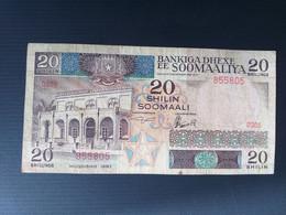 SOMALIE 20 SHILLINGS 1983 - Somalia