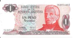 ARGENTINE 1 PESO ARGENTINO ND1983-84 UNC P 311 - Argentina