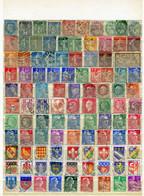 FRANCE - Lot De 476 Timbres Oblitérés Avant 1998 - (voir Les 8 Scans) - Lots & Kiloware (mixtures) - Max. 999 Stamps
