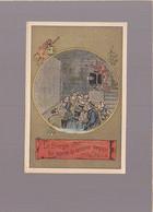 Chromo Circa 1900 / Le Singe Qui Montre La Lanterne Magique, Florian - Other