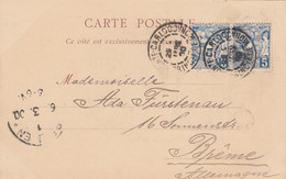 Monaco Postcard 1900 - Cartas
