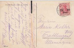 Deutsches Reich Turkei Postkarte 1911 - Ufficio: Turchia
