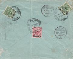 Deutsches Reich Turkei Brief 1890 - Ufficio: Turchia