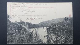 Haiti Carte Postale De Jérémie Pont Sur La Grand'Anse Vue De La Plaine - Haiti