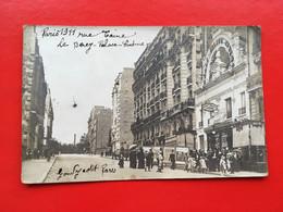 CPA PHOTO PARIS 1911 LE BERCY PALACE CINÉMA GONDRY ÉDITEUR - District 12
