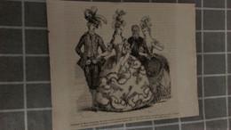 Affiche (dessin) - COSTUME DE MARIE ANTOINETTE, .......... - Manifesti