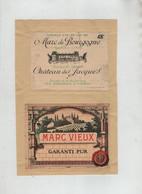 Marc Bourgogne Château Des Jacques Thorin Romanèche Marc Vieux Eau De Vie Hospices Beaune - Non Classificati