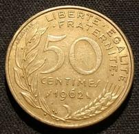 FRANCE - 50 CENTIMES 1962 - 3 Plis - Marianne - Lagriffoul - Gad 427 - KM 939.1 - G. 50 Centimes
