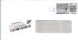 Mon Timbre En Ligne Lettre Recommandée R2 AR - 5,53€ - 31/10/2017 - TOULOUSE NORD - Gepersonaliseerde Postzegels (MonTimbraMoi)