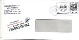 Mon Timbre En Ligne: Lettre Recommandée R2 AR - 5,63€ - 7/3/2018 - TOULOUSE NORD PDC - Gepersonaliseerde Postzegels (MonTimbraMoi)