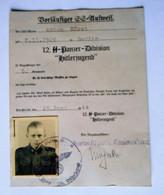 CARTE D'IDENTITE ALLEMANDE - 1939-45