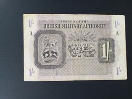 BRITISH MILITARY 1 SHILLING 1943 - British Military Authority