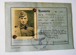 LAISSER PASSEZ ALLEMAND - 1939-45