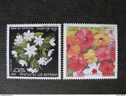 Wallis Et Futuna: TB  Paire N° 449 Et N°450, Neufs XX. - Unused Stamps