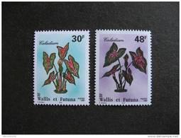 Wallis Et Futuna: TB  Paire N° 493 Et N°494, Neufs XX. - Unused Stamps