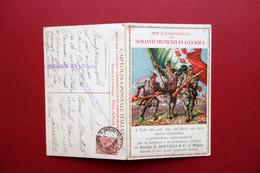 Cartolina Soldati Mutilati In Guerra Bertelli Profumi Trieste Viaggiata 1916 - Altri