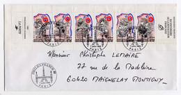 Carnet Personnages Célèbres 1989 (YT BC2570) Sur Enveloppe Avec Oblitérations Inauguration PhilexFrance 07/07/1989 - People