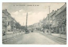 CPA BELGIQUE - LA PANNE AVENUE De La MER - RESTAURANT D'YPRES - NON CIRCULÉE - De Panne
