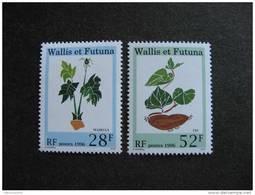 Wallis Et Futuna: TB  Paire N° 487 Et N°488, Neufs XX. - Unused Stamps
