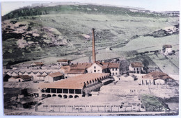 C. P. A. Couleur : 25 BESANCON : Les Soieries De Chardonnet Et Le Fort Bregille - Besancon