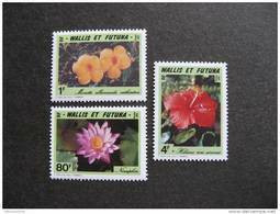 Wallis Et Futuna:  TB Serie N° 420 Au N°422, Neufs XX. - Unused Stamps