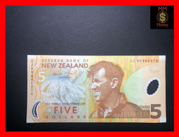NEW ZEALAND  5 $  1999   P. 185   First Date   Polymer  UNC - New Zealand