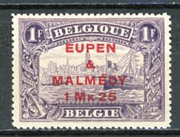 BE   OC 61   X     ---    Première Faible Charnière  --  Excellent état - [OC55/105] Eupen/Malmédy