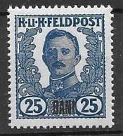 KuK Feldpost In Rumania Mnh ** 35 Euros 1918 - Nuevos