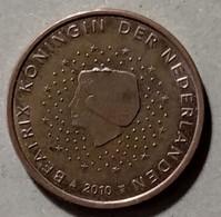 2010  - PAESI BASSI  -  MONETA IN EURO - DEL VALORE DI 5 CENTESIMI - CIRCOLATA - Niederlande
