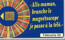 TELECARTE  France Telecom  50  UNITES.      1.500.000.  EX. - Telecom Operators