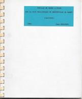 Jean Desloges, Fouilles De Mines De Silex Sur Le Site Néolithique De Bretteville-le-Rabet, 1983 - Normandie