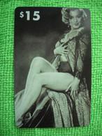 7156 Télécarte Collection MARYLIN MONROE  Cinéma Neuve  1000 Ex     ( Recto Verso)  Carte Téléphonique - Cinema