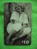 7161 Télécarte Collection MARYLIN MONROE  Cinéma Neuve  1000 Ex     ( Recto Verso)  Carte Téléphonique - Cinema