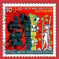 BRD 2020  Mi.Nr. 3526 , Der Wolf Und Die Sieben Geißlein - Selbstklebend / Self-adhesive - Gestempelt / Fine Used / (o) - Usados