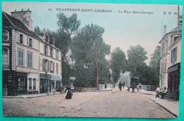 VILLENEUVE SAINT GEORGES  -  La Place Saint Georges - Villeneuve Saint Georges