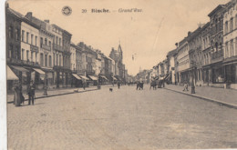 BINCHE / GRAND RUE  1922 - Binche