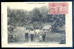 Cpa Océanie Vanuatu Nouvelles Hébrides , Pointe Dip ,, Campagne Du Kersaint     AVR21-36 - Vanuatu