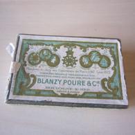 BOITE A PLUMES 135 Bis « BLANZY POURE & Cie » VIDE - Boxes