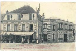 CPA   MORET / LOING   Hôtel Restaurant Du Cheval Noir   N° 59 - Moret Sur Loing